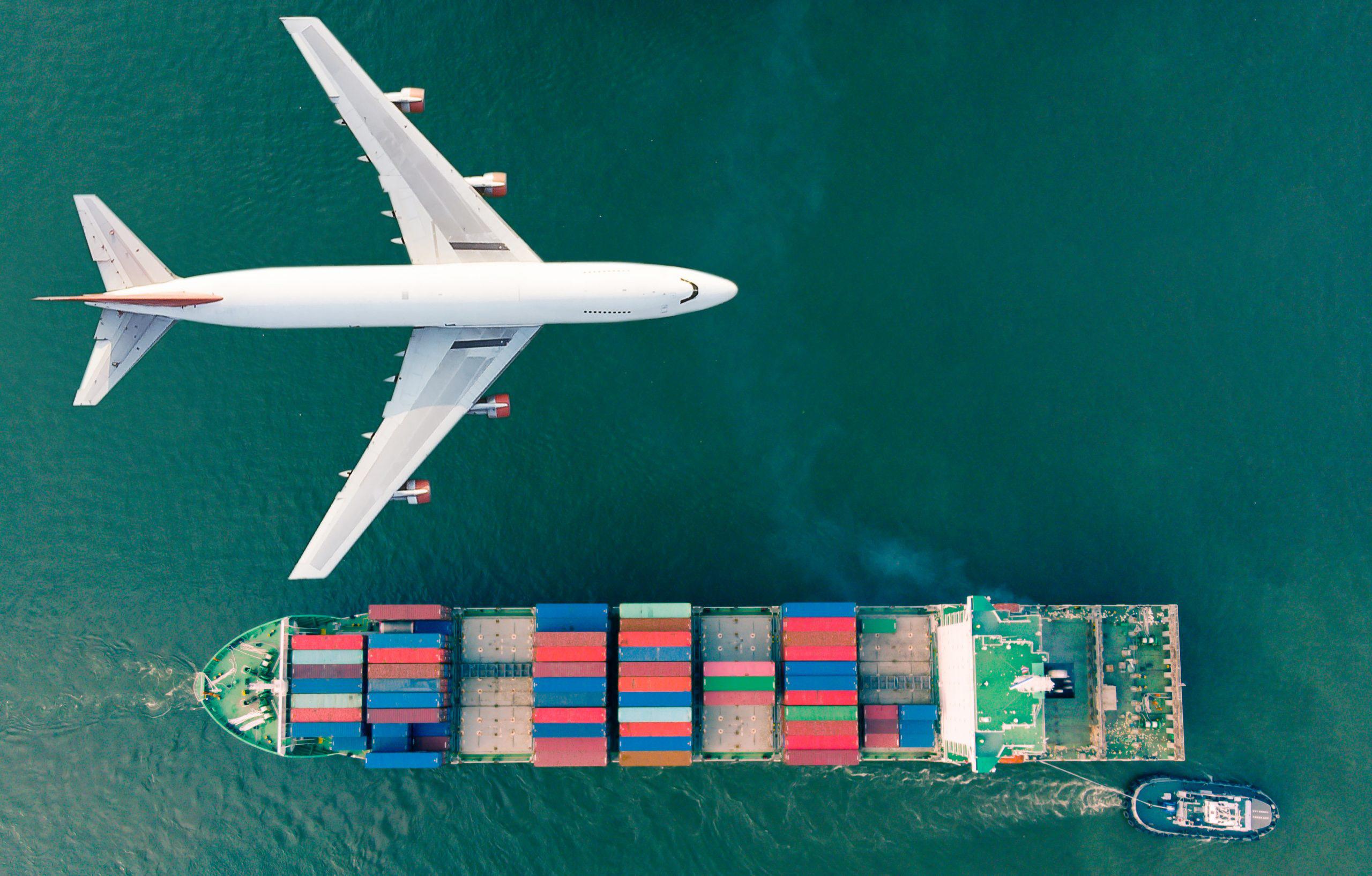 Доставка из США морем и авиадоставкой
