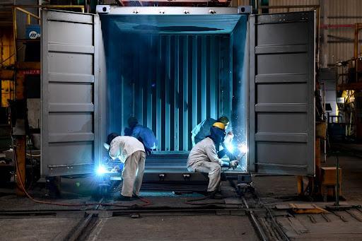Производство контейнеров для доставки грузов из Китая